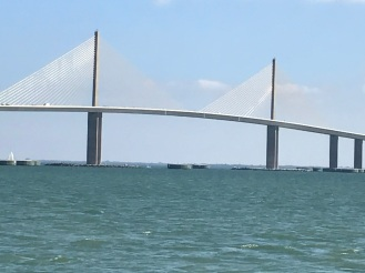 Sunshine Bridge on Tampa Bay