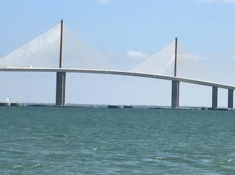 Sunshine Bridge on Tampa Bay