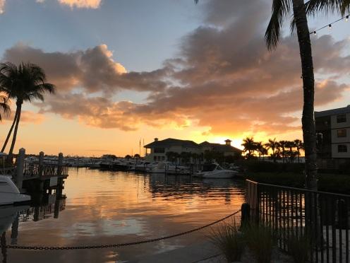 Sunset a few days ago...