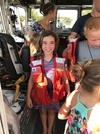 Coast Guard vest - very heavy!