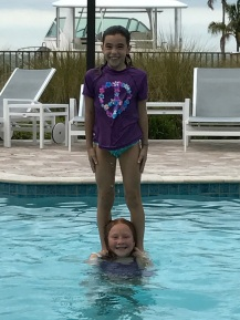 Molly and AnnaMay tower