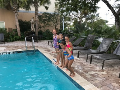 Swimming with the Wilsons