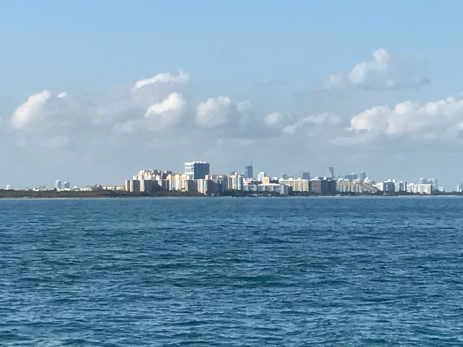 Miami! Haven't seen a skyline since Chicago!