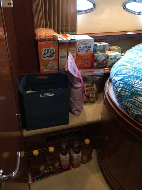 Some of our food stash