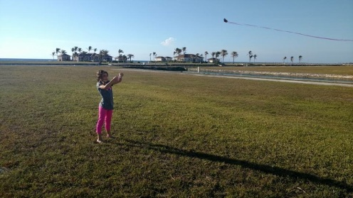 Lots of room to run with kites!
