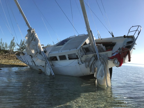 We've seen a lot of abandoned boats like this