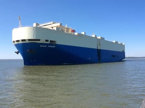 pioneer ship