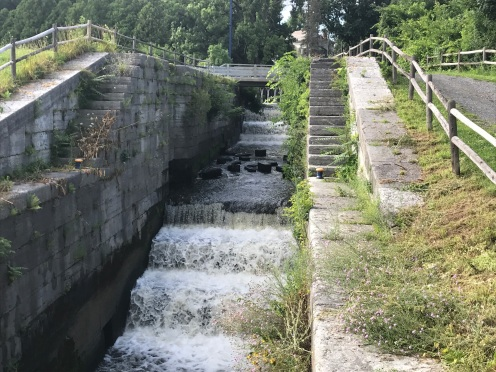 Stairstep of original locks