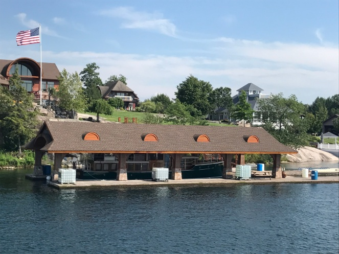 Boat house!